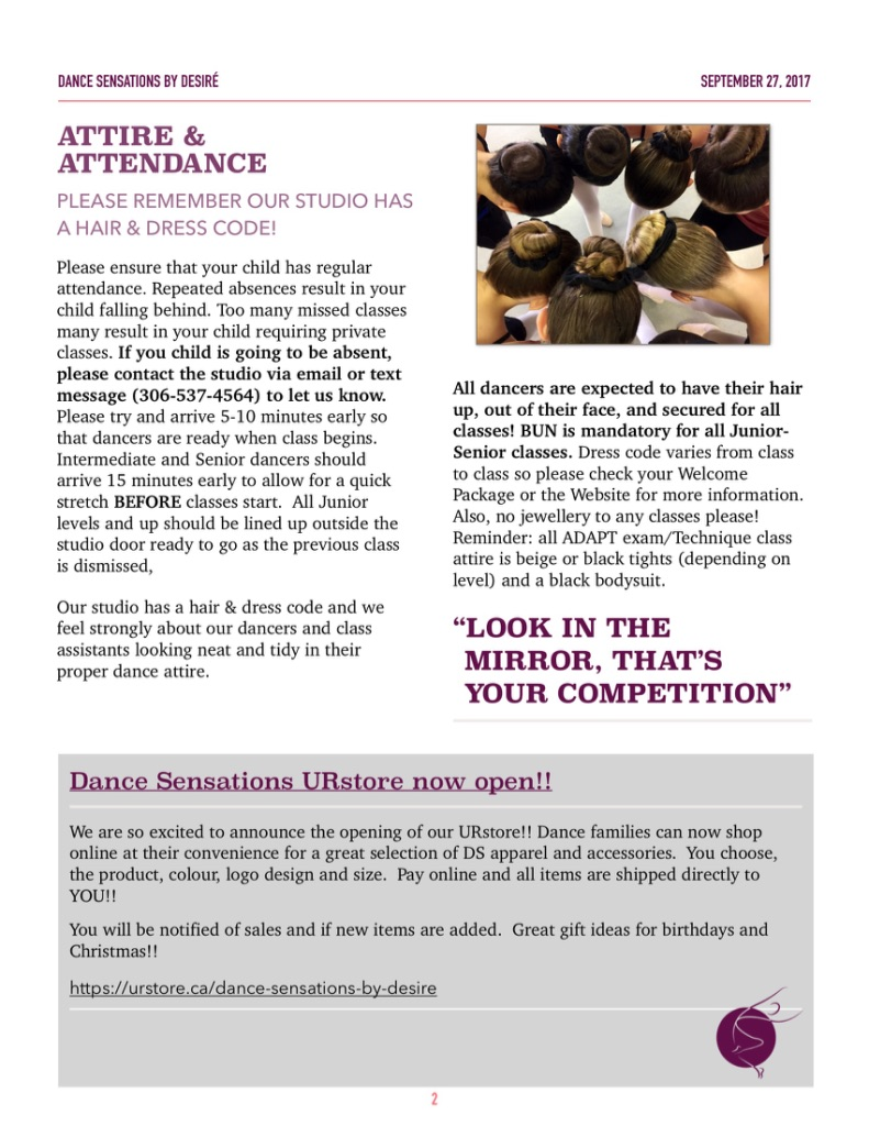 October Newsletter PG2